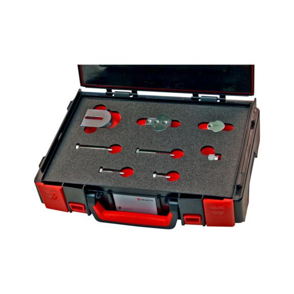Kit d'outils Flex, 8pièces - KIT UNIV PR COURROIE ELASTIQUE 9 PCS