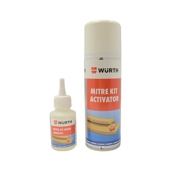 2 Piece Mitre Super Glue Kit - SUPGLU-KIT-MITRE-2TLG