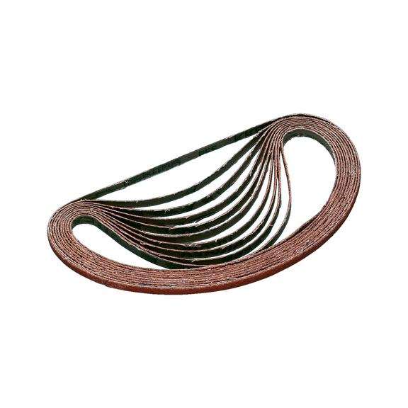 Courroie abrasive en grain céramique - BANDE ABRA TOILE SF ZIR 50X1750 P 40