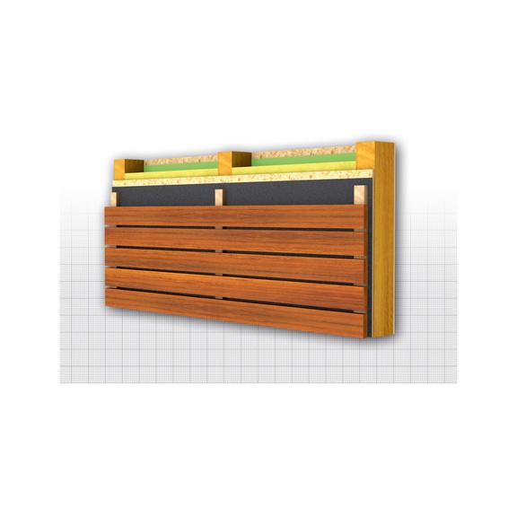 Fassadenbahn WÜTOP<SUP>® </SUP>Thermo Fassade 2SK - 0