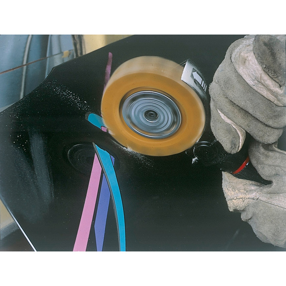 Levigatrice a spazzola pneumatica DBS 3500 - 2