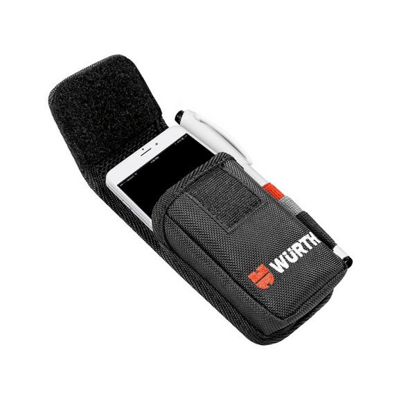 Etui pour téléphone portable Nylon - ETUI TEL PORTABLE VERTIC 85X30X150MM