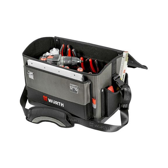 Sac à outils robuste avec fond en plastique - CAISSE A OUTILS TYPE RECTANGULAIRE-300MM