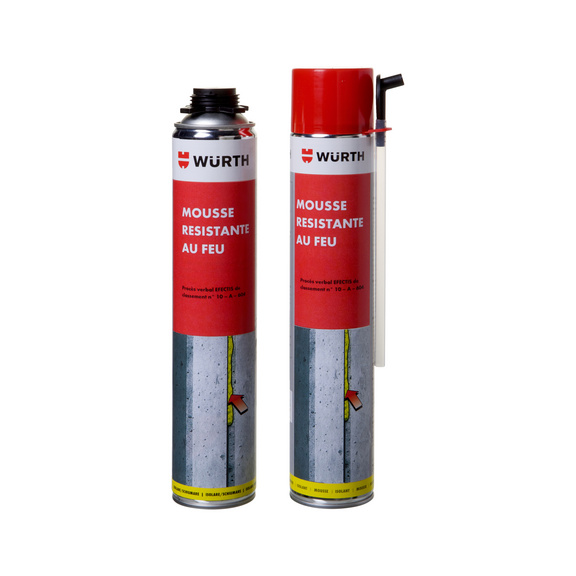 Mousse pu coupe feu monocomposant isolante w rth - Mousse polyurethane coupe feu ...