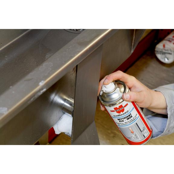 spray nettoyant pour acier inoxydable et aluminium w rth. Black Bedroom Furniture Sets. Home Design Ideas