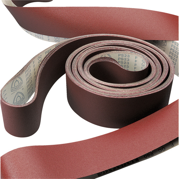 Bandes abrasives longues sans fin - BAND.ABRAS.LONG.S.F 120X7000 G 100