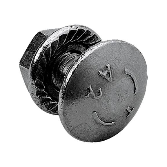 boulon trcc crou embase crant e acier inox a2 w rth. Black Bedroom Furniture Sets. Home Design Ideas