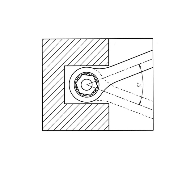 Ratchet combination wrench assortment, double-ended - RTCHCOMBIWRNCH-SET-6PCS