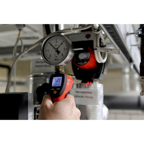 Infrarot-Laserthermometer - THERMOM-INFRAROT-(12CM AUF D1CM)-LASER