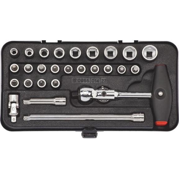 """Sada nástrčných klíčů 1/4"""" - 1"""