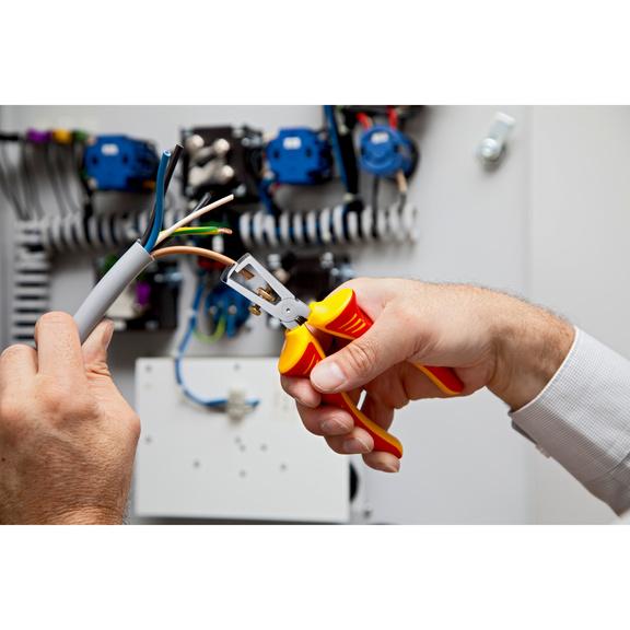 VDE-Abisolierzange IEC 60900 - ABISOZANG-JB-VDE-160MM
