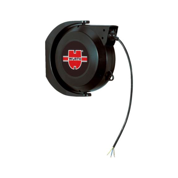 enrouleur mural automatique de c ble lectrique w rth. Black Bedroom Furniture Sets. Home Design Ideas