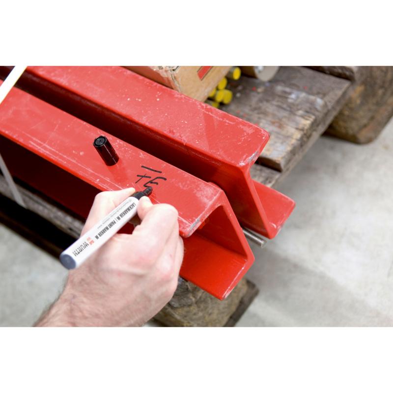 Marcador de tinta - MARCADOR LACAGEM 400 PRETO 2-4MM