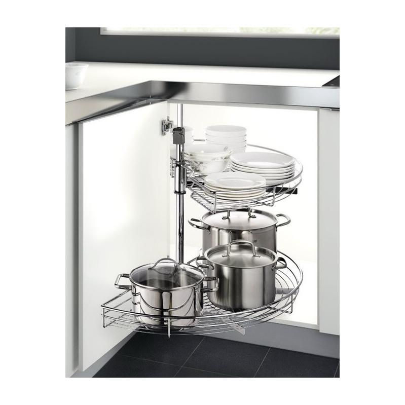 Carousel Unit for Kitchen Cupboard Corner Cupboard Pivot - CRNCPBRDPIV-CAROUSEL-UNIT-F.KITCHEN-CPBR