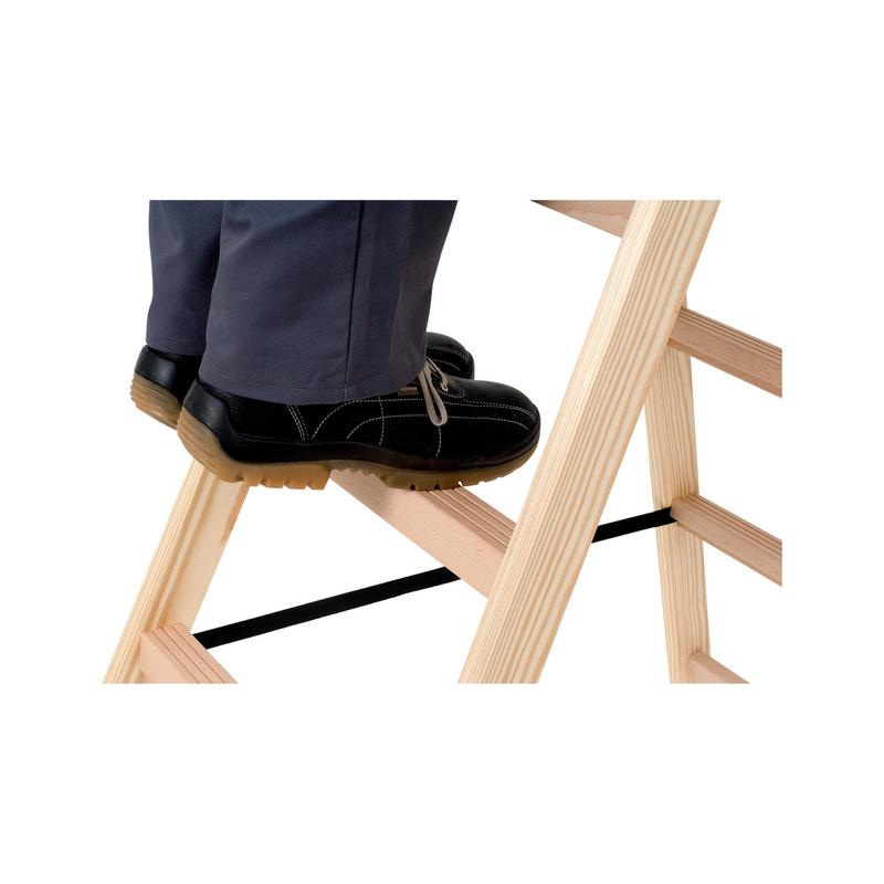 Scala a cavalletto in legno con gradini larghi 0962932407 for Gradini in legno prezzi