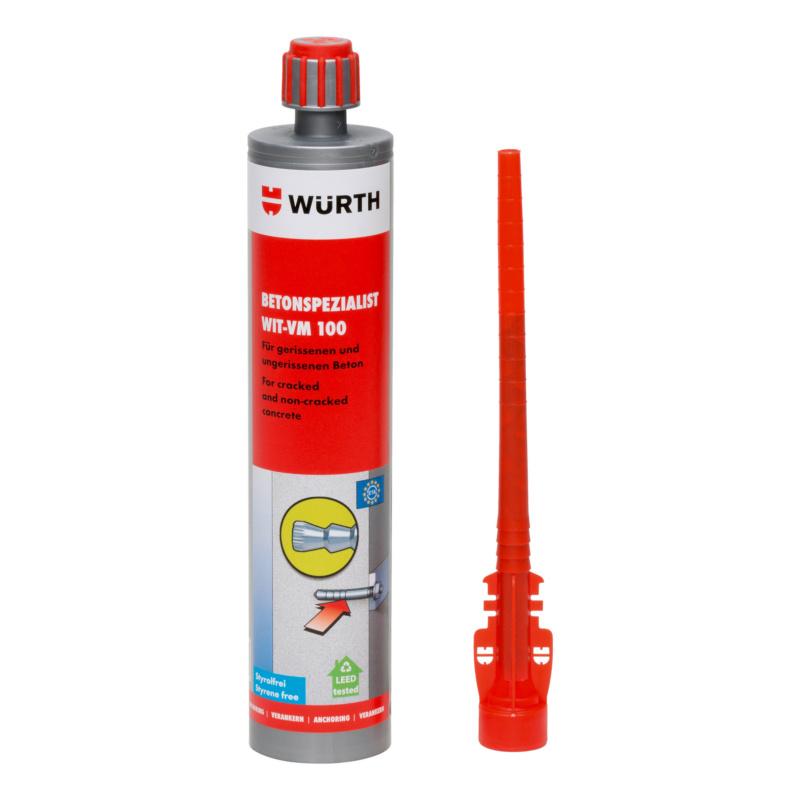 Mortier chimique Spécial pour béton WIT-VM100 - 0