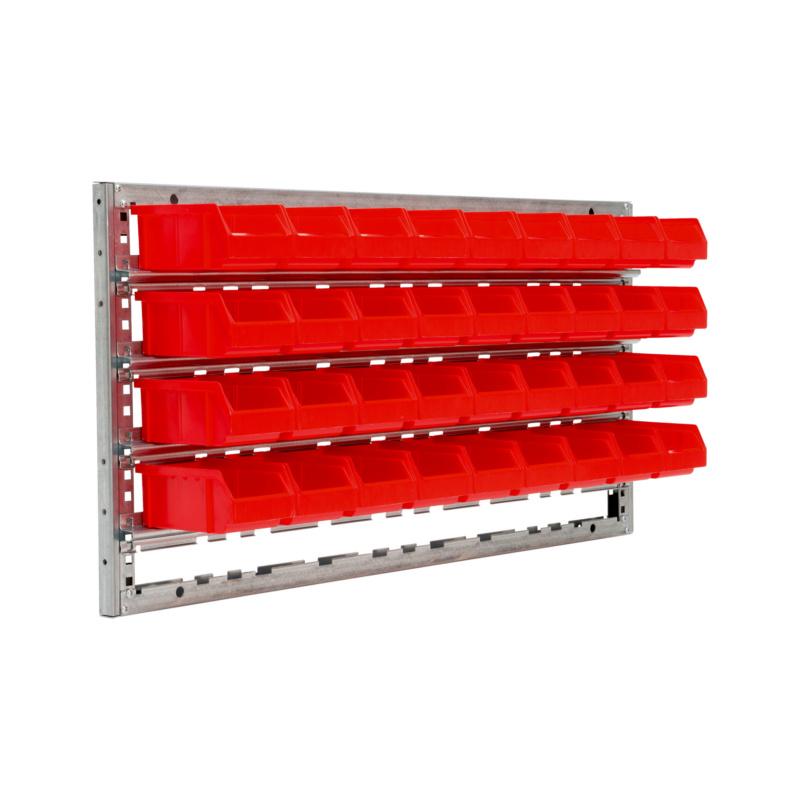 Prateleira de parede 500 - ARMARIO DE PAREDE COM 36 CAIXAS RED