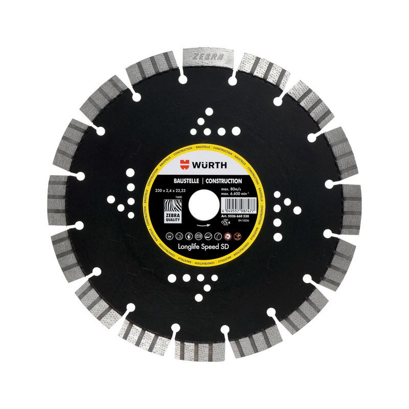 Diamanttrennscheibe Longlife & Speed SD Baustelle - 0