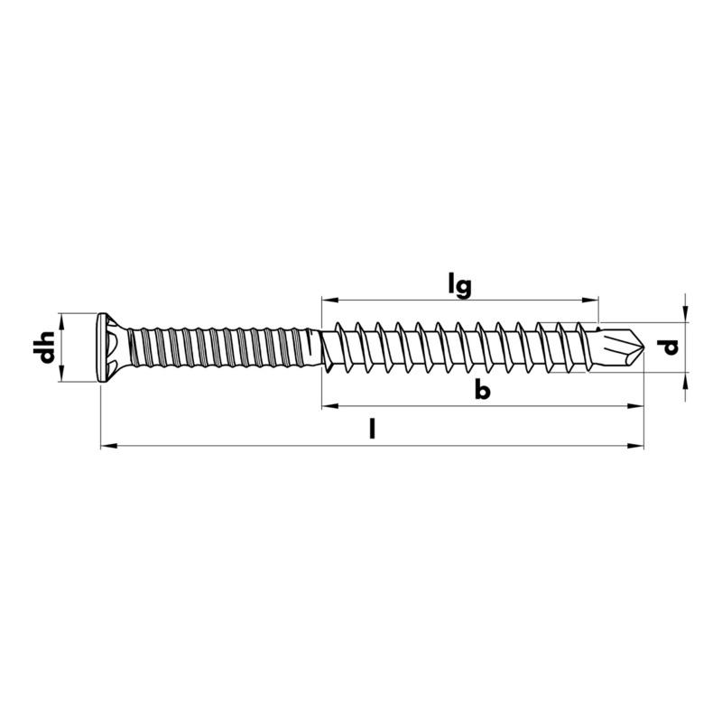 ASSY<SUP>®</SUP>plus A2 Vis pour la construction de terrasses - 2