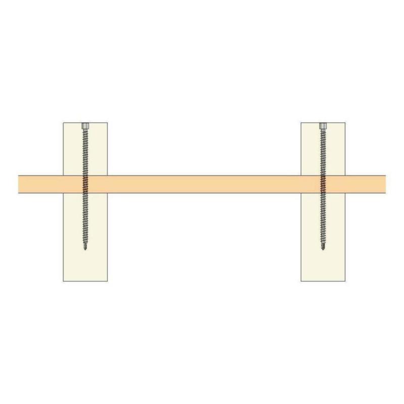 ASSY<SUP>®</SUP>plus FT, tête fraisée autofraisante Vis pour construction bois - VIS ASSY PLUS VG TFF 8330 ZI