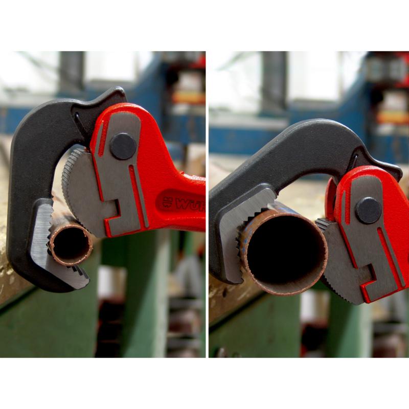 Alicate para tubos, fecho automático, punho mestre - CHAVE TUBOS MASTERGRIP 14.
