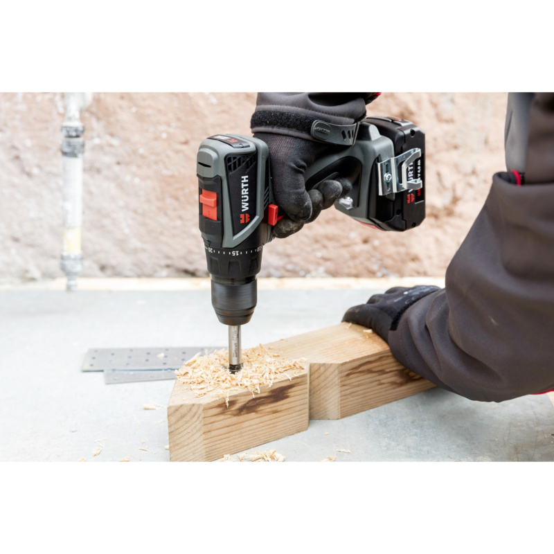 Battery-powered drill screwdriver BS 18-A EC Compact - DRLDRIV-CORDL-(BS18-A EC CO)-2X4.0AH