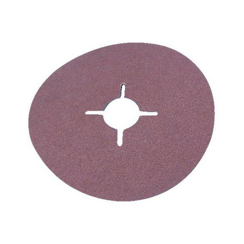 Disque fibre vulcanisé en corindon - DISQUE FIBRE 180X22  P 100