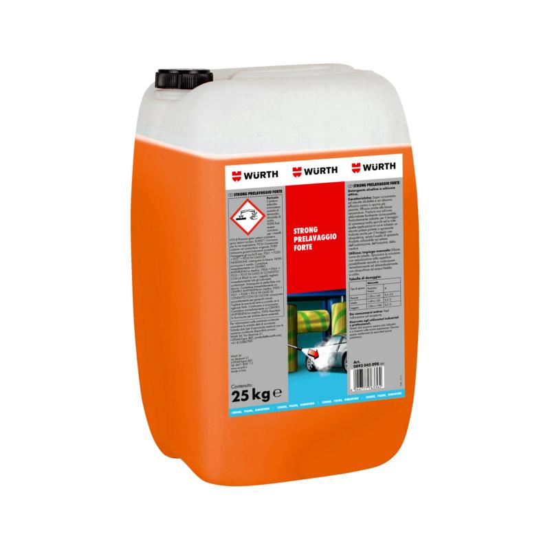 Detergente concentrato, autolavaggio - STRONG-PRELAVAGGIO-FORTE-25KG