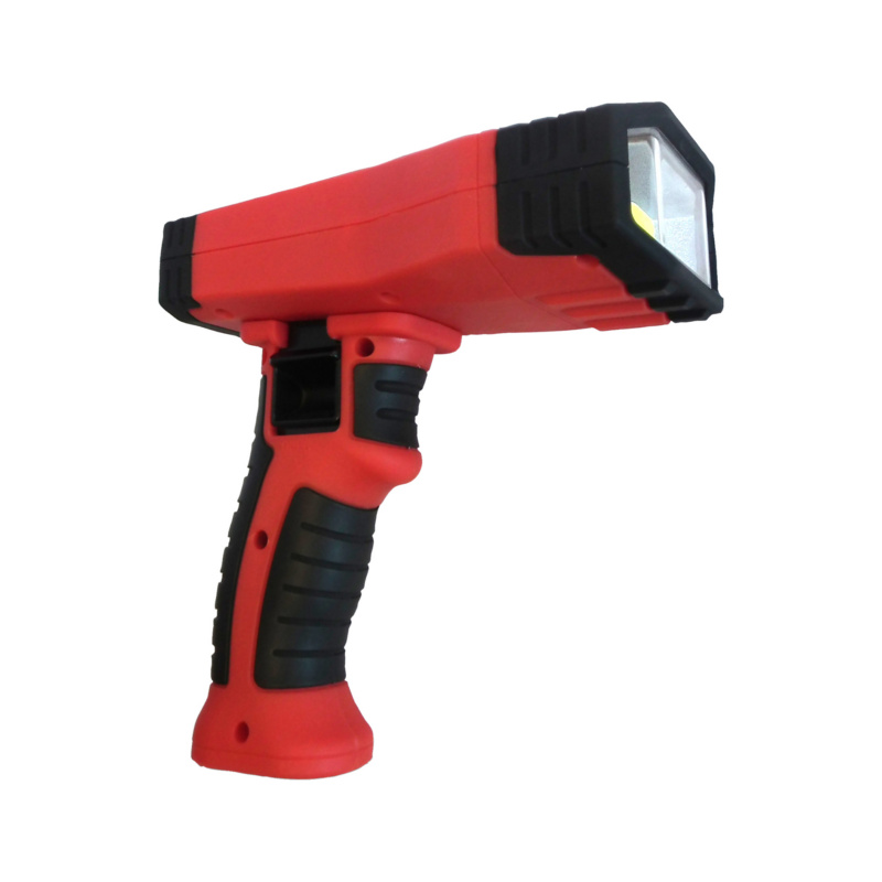 Hand Held Lamp, Battery Hood Hawk - LAMP-BTRY-1000LM-10W-RED/BLACK-IP51