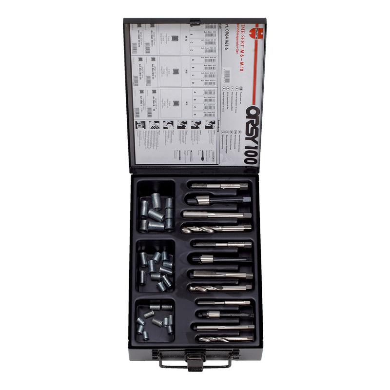 螺纹修复套件 TIME-SERT<SUP>®</SUP> - 螺纹修复器组套-M6/M8/M10