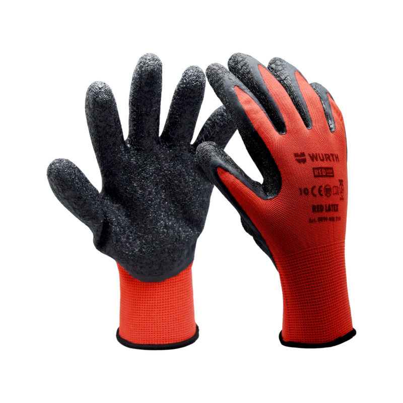 Protective glove Red Latex Grip - 0