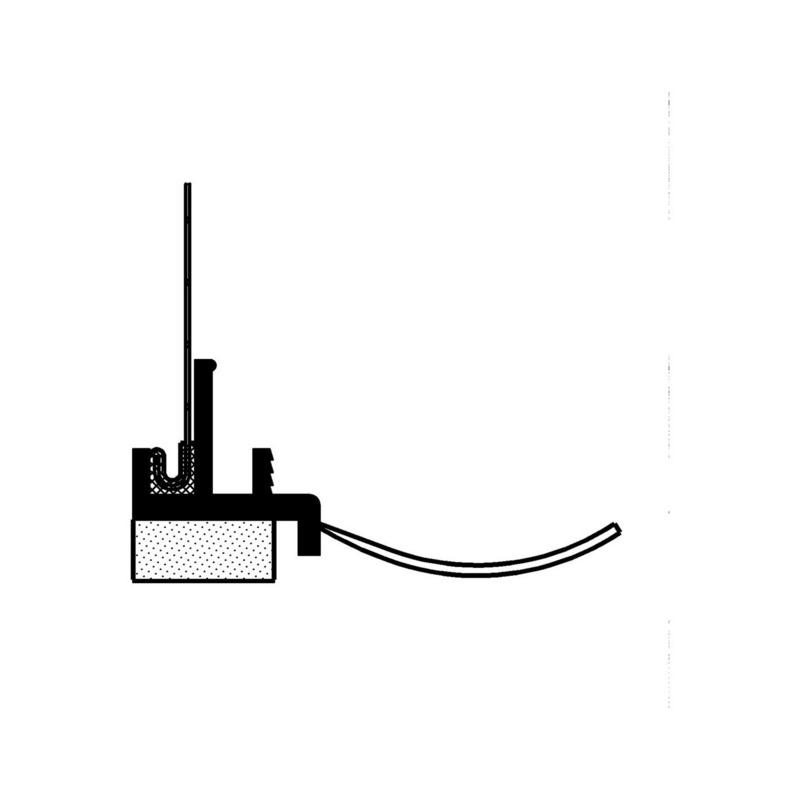 anputzleiste mit schattenfuge und gewebe 0519550924 online kaufen w rth. Black Bedroom Furniture Sets. Home Design Ideas