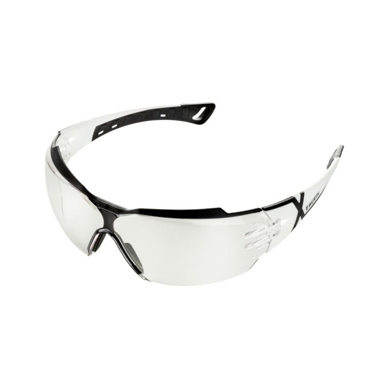 Schutzbrille Cetus®X-treme, klar Optimaler Schutz in sportlichem Design.