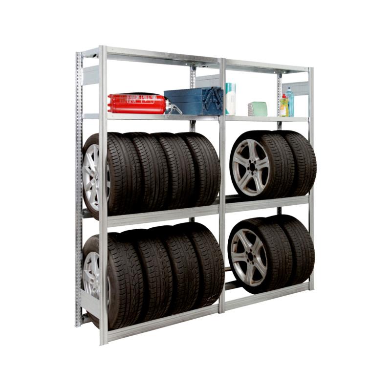 NEU! Garagen-Steckregal zur Lagerung von Reifen und Autozubehör