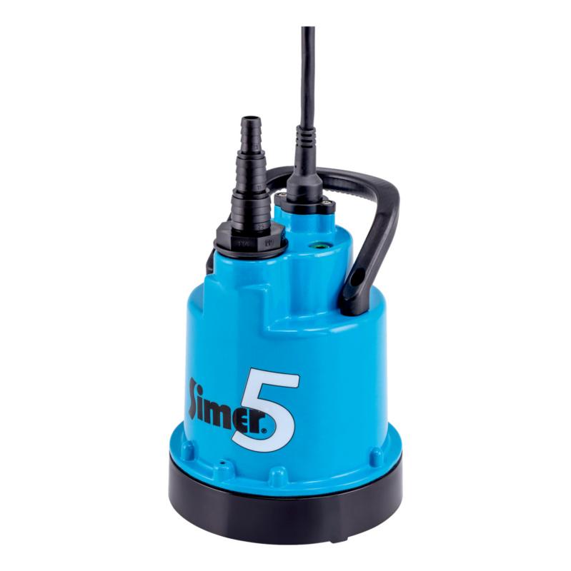 Tauchpumpe Classic  Flachsaugpumpe zum Absaugen von Wasser bis auf 2 mm Tiefe