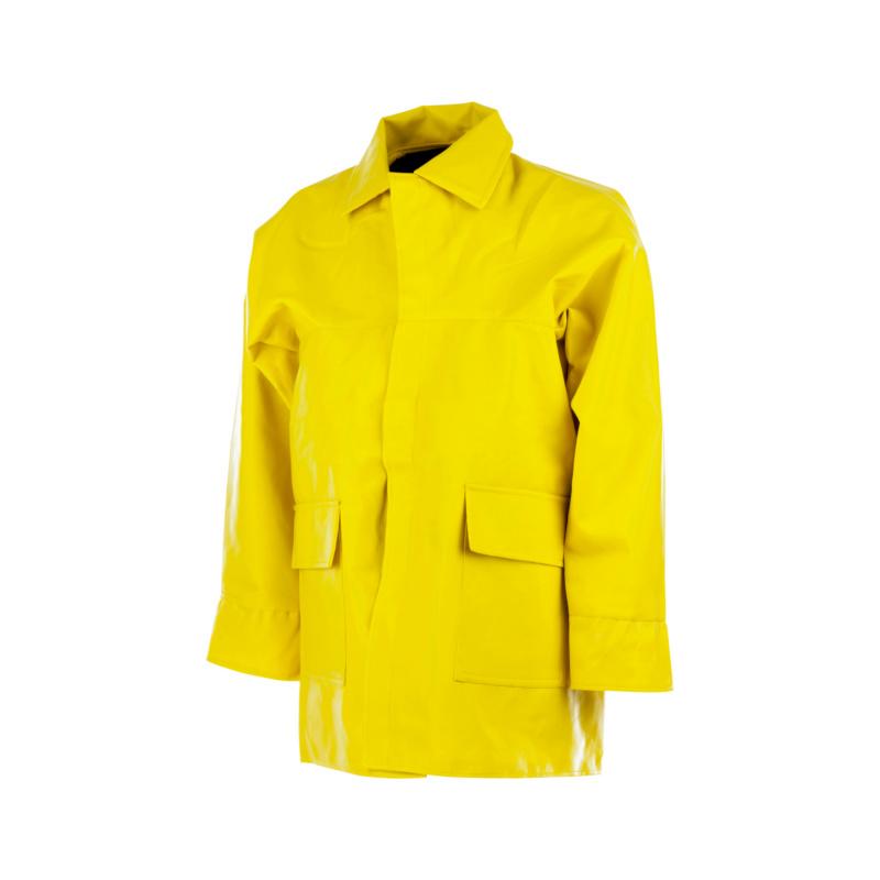 Wetterschutz Winter Regenjacke Bau in Gr M  Wasserdichte Winter-Bau-Regenjacke mit Wärmefutter. Durch das herausnehmbare Innenfutter ist die Jacke nicht nur für kalte Temperaturen ideal geeignet.