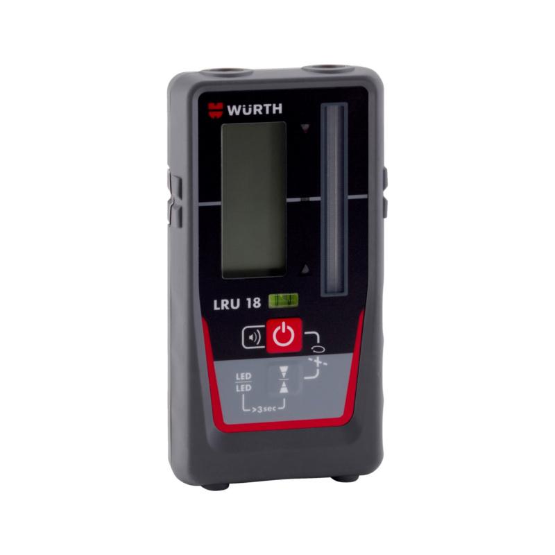 Laserempfänger Universal LRU 18  Universalempfänger für rote und grüne Rotations- und Linienlaser.