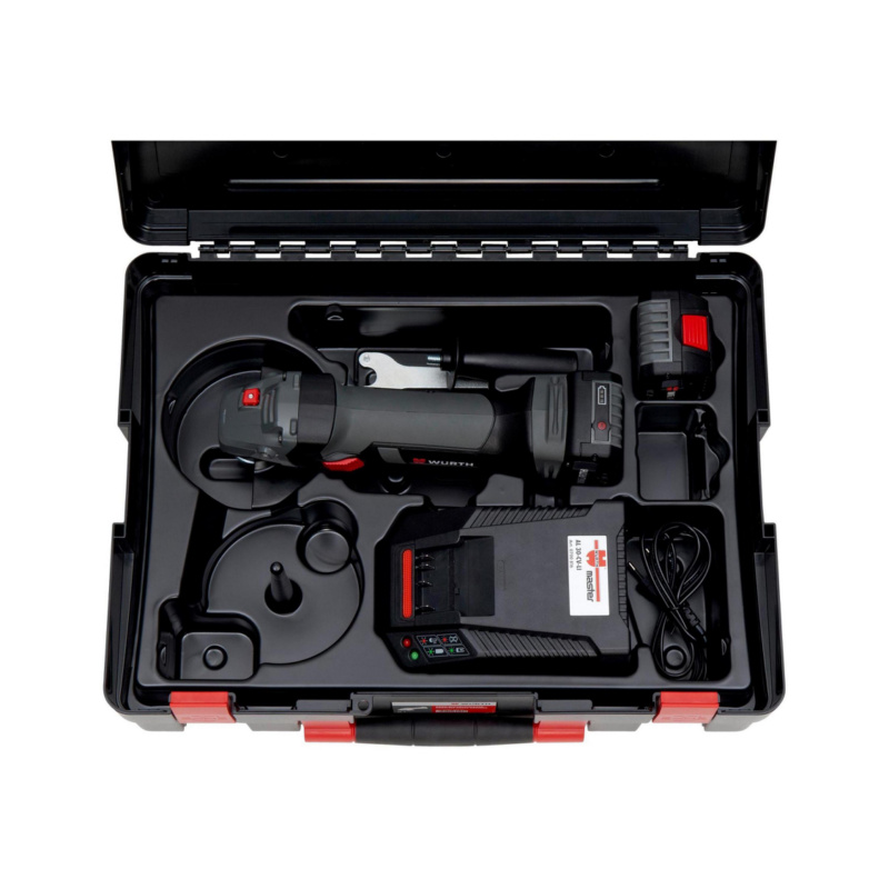 Akku-Winkelschleifer EWS 18-A, 125 mm Scheibe - WNKLSHLF-AKKU-(EWS18-A/125MM)-2X4,0AH