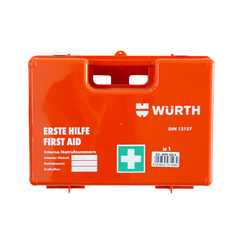 Order now: First-aid case, DIN 13157
