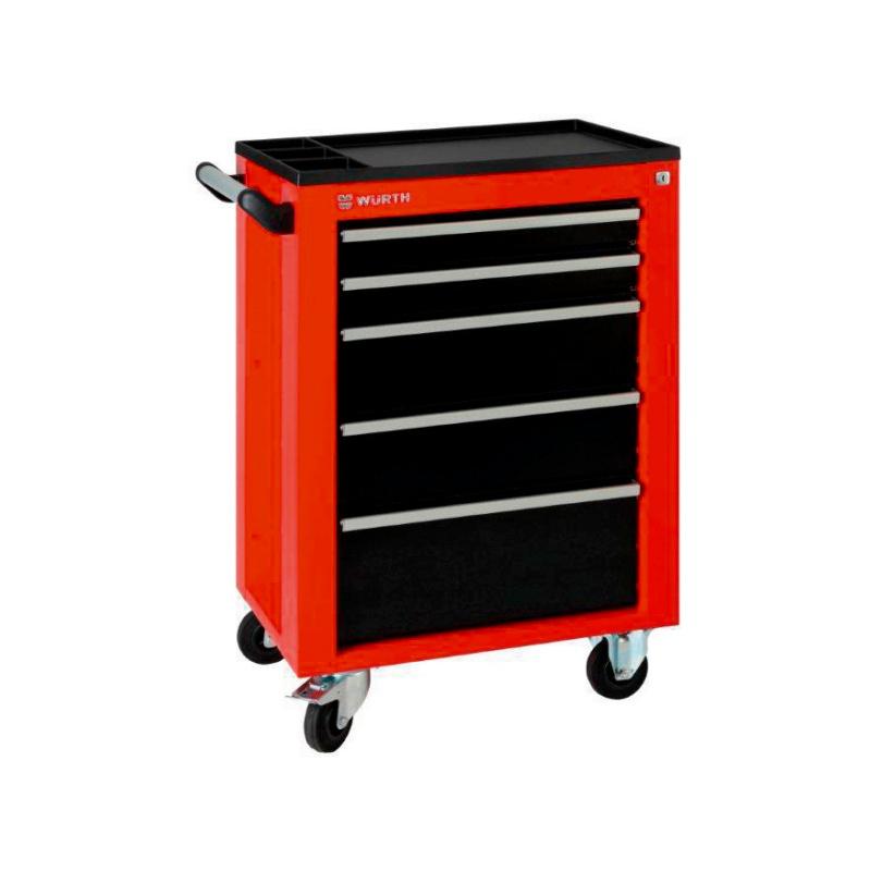 servante d 39 atelier standard seven pour professionnels w rth. Black Bedroom Furniture Sets. Home Design Ideas