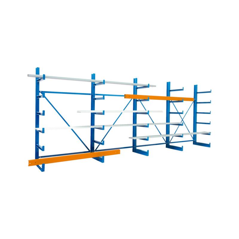 NEU! Kragarm-Regal zur übersichtlichen Lagerung und leichtem Zugang von langen sowie sperrigen Gütern