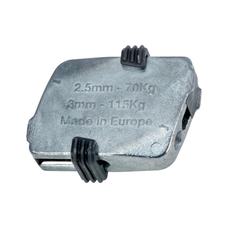 Support de câble métallique - ATTACHE SW2 W-FIX Ø2.5 - 3 MM