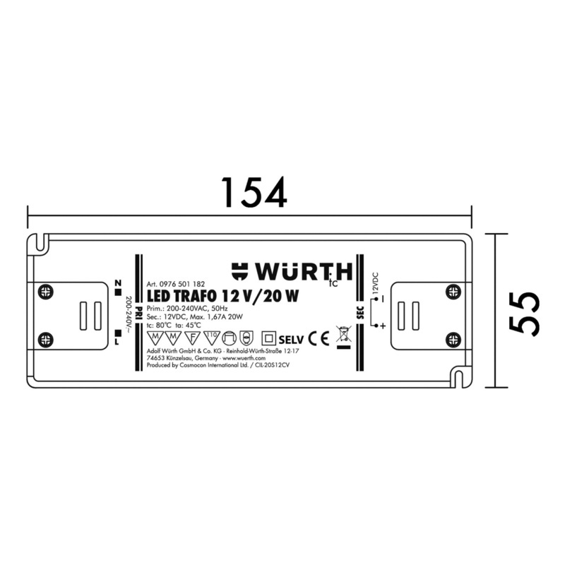 Buy Led Safety Transformer 0976501182 Online W Rth