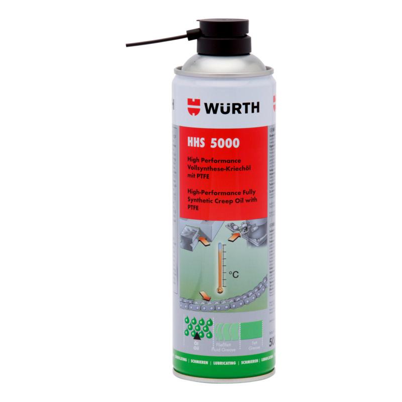 Hechtend smeermiddel HHS<SUP>®</SUP> 5000  - HHS 5000 HP SMEEROLIE  PTFE  500 ML