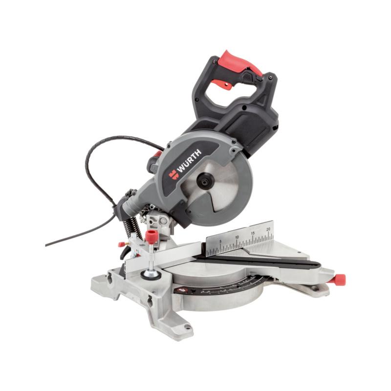Kapp- und Gehrungssäge KGS 270-60 E  Mit elektronischer Motordrehzahl-Steuerung, Zugfunktion und leistungsstarkem 1.550 Watt-Motor.