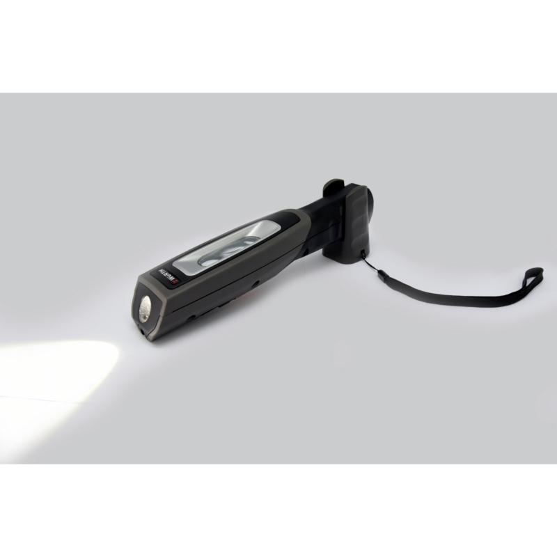 Lampada portatile, batteria - LAMPADA-PORT-ERGOPOWER-COMPACT-IP65-6W