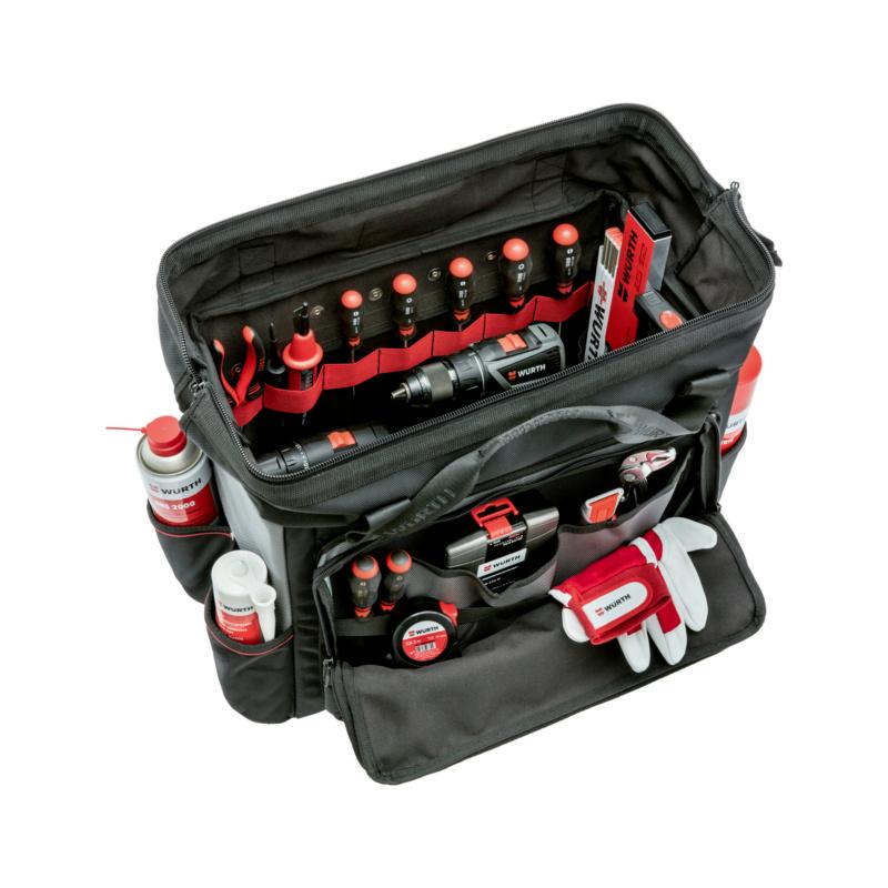 Sac à outils avec bords en aluminium - CAISSE A OUTILS RECTANGU ARETE ALU