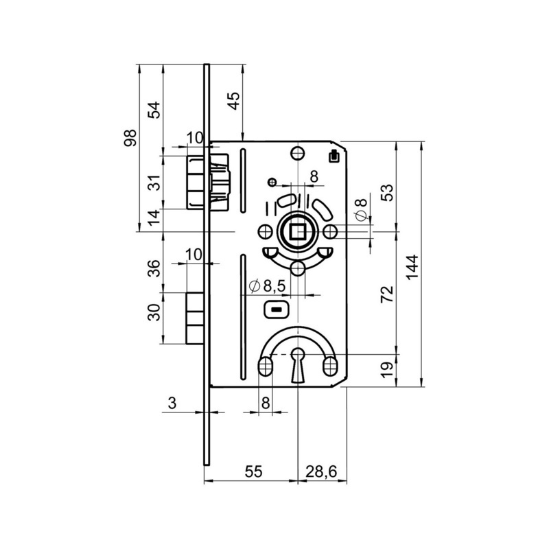 Interior Door Mortise Lock Bb Class 2 Mortlokcl2khdin: Softm Inter Wiring Diagram At Johnprice.co