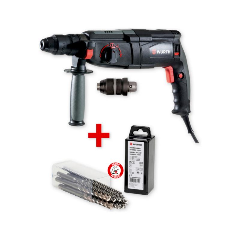 Kit martello elettropneumatico H26-MLS  con punte plus quadro- l vario - 0