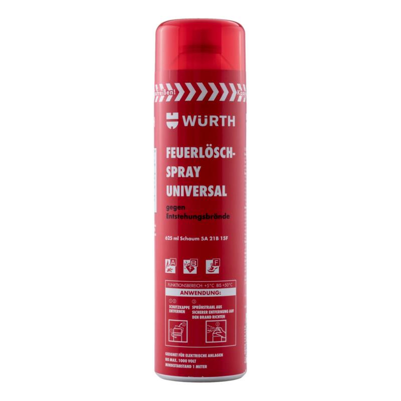 Feuerlöschspray Universal  Für den universellen Einsatz in einer Werkstatt, Küche, Büro, Bau und Montage.